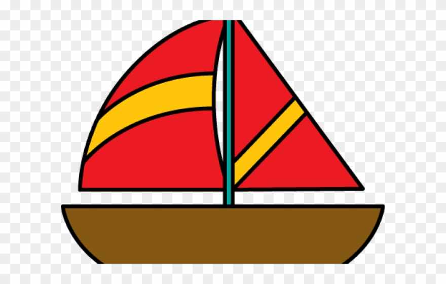 Cruise Clipart Toy Sailboat.