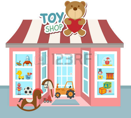 771 Christmas Toy Shop Stock Illustrations, Cliparts And Royalty.