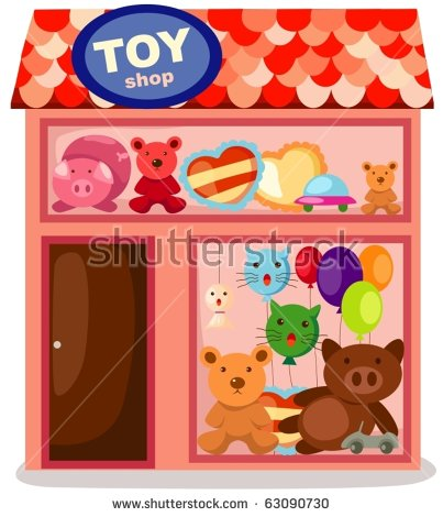 Toy Store Stock Images, Royalty.