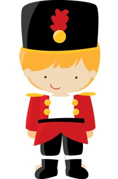 Christmas Toy Soldier Clipart.