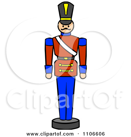 Clipart Christmas Nutcracker Toy Soldier.