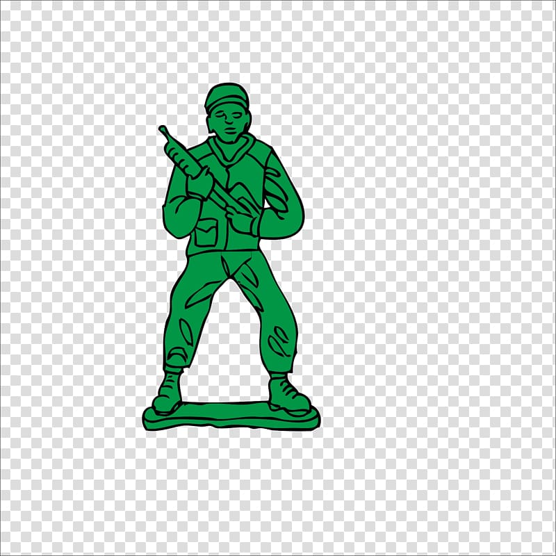 Toy soldier, Soldiers transparent background PNG clipart.