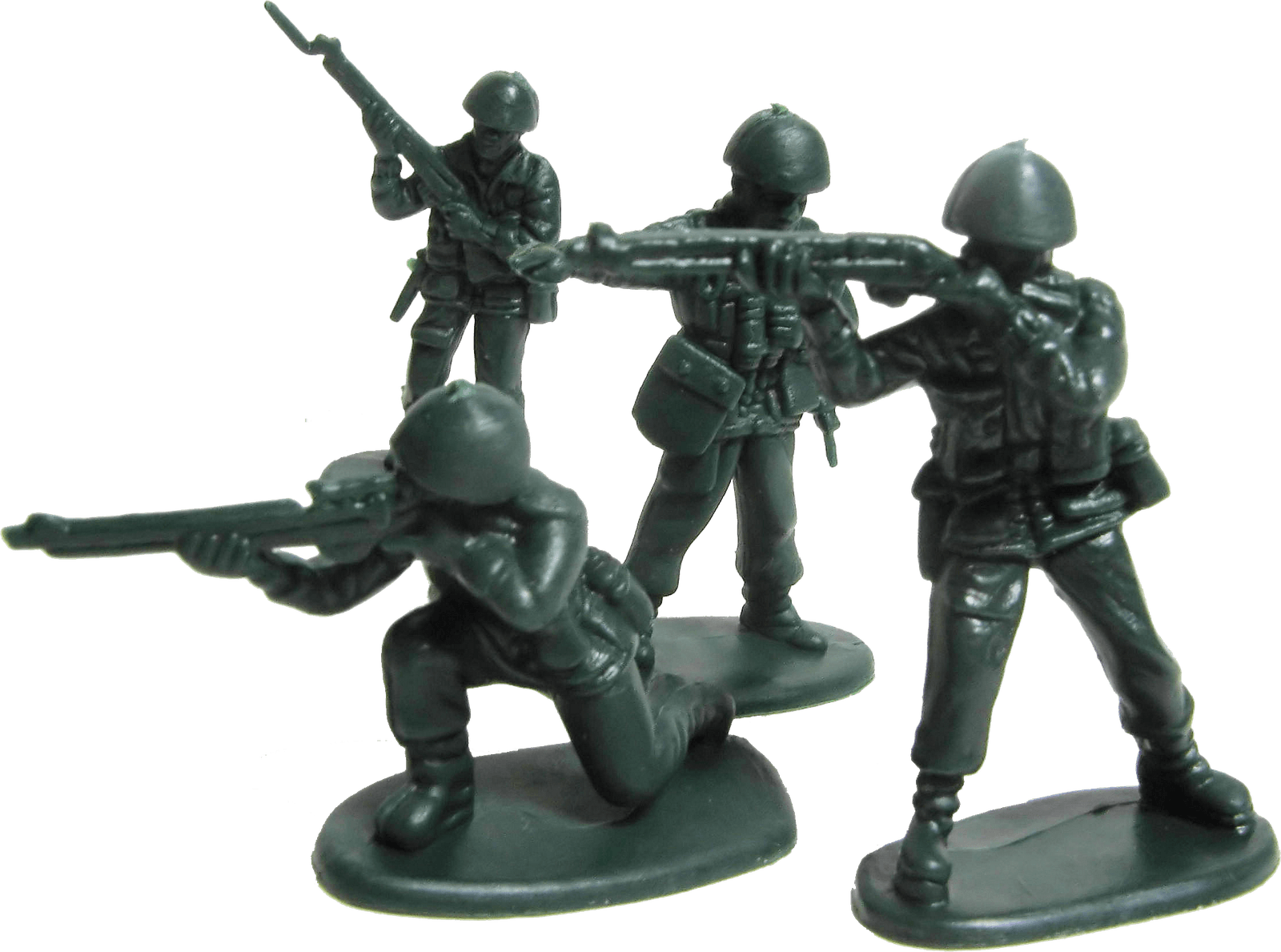 Toy Soldiers transparent PNG.