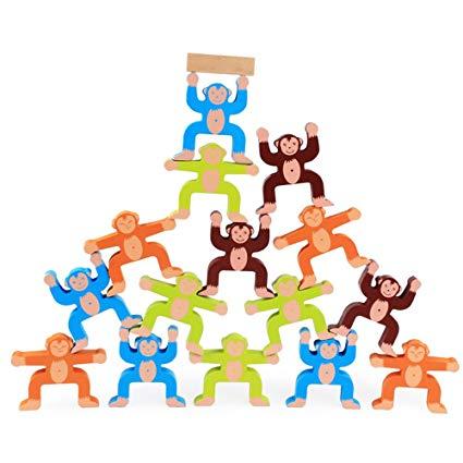LOHOME Monkey Balancing Blocks Toys.