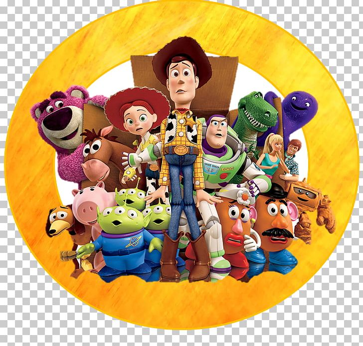Buzz Lightyear Sheriff Woody Andy Toy Story 3: The Video.
