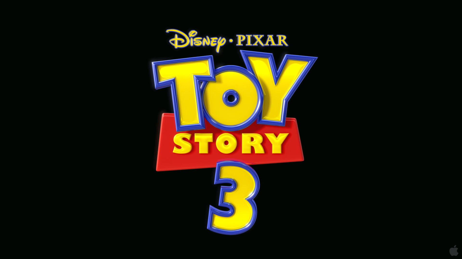 Disney Pixar Toy Story 3 logo, movies, Toy Story, animated.