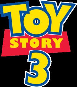 Toy story 3 Logos.