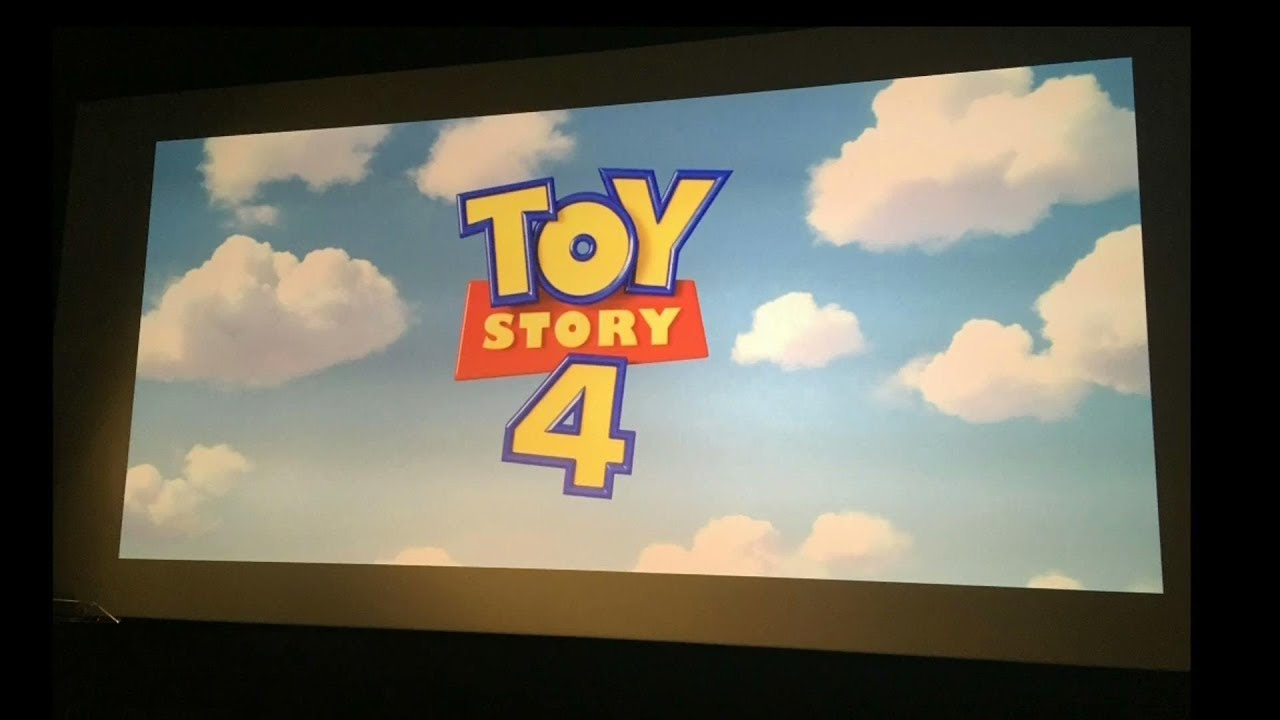 Toy Story 4 Opening Logo and Best Scene.