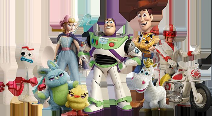 Imagenes Toy Story 4 personajes.