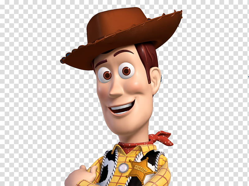 Toy Story, Cowboy Woody transparent background PNG clipart.