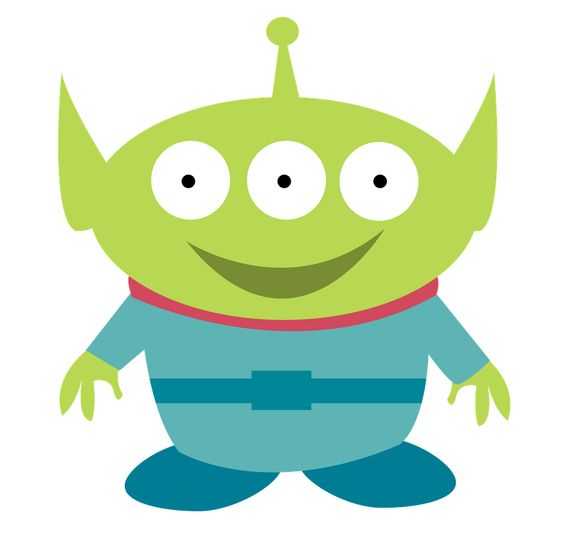 Toy story alien clipart.