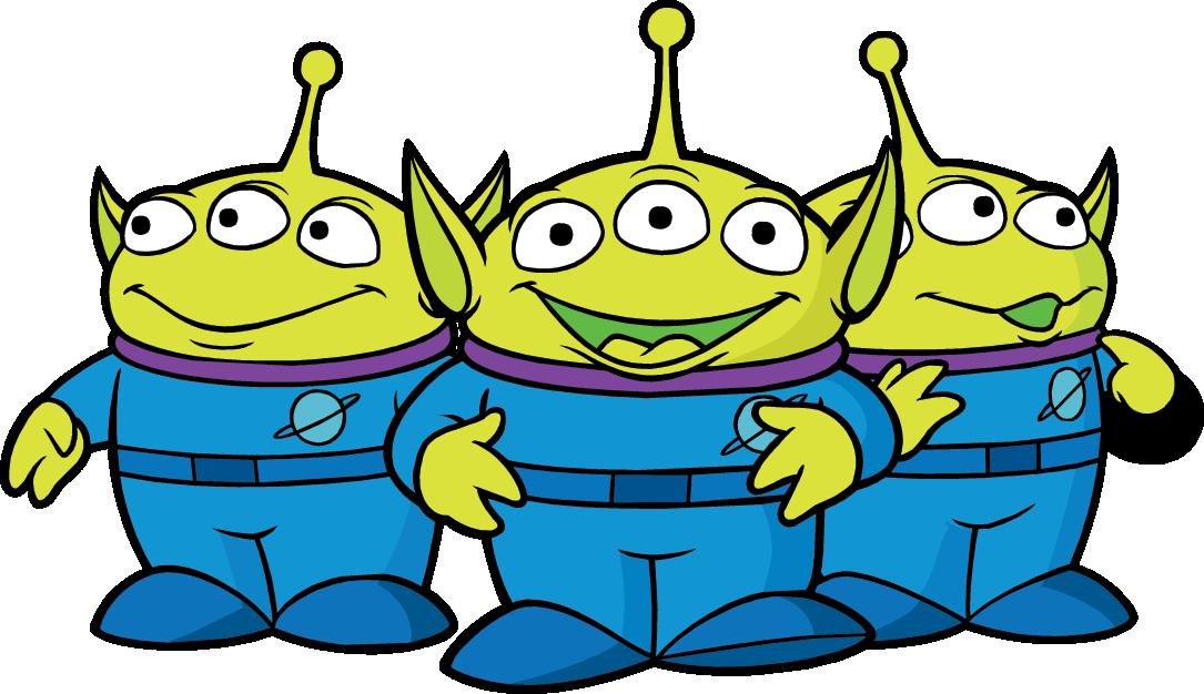 Toy story alien clip art.