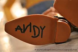 Image result for toy story andy name.