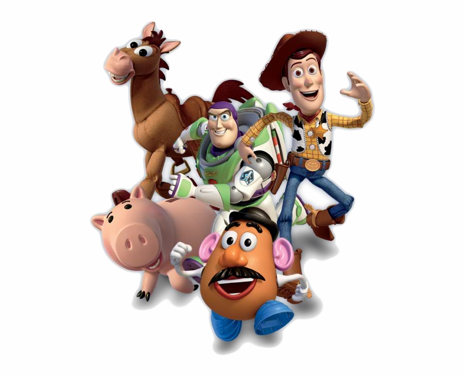 Toy Story Clipart Happy Birthday Toy Story Characters.