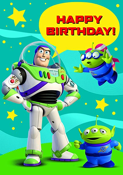 Toy Story Happy Birthday Card by Portico: Amazon.co.uk: Toys.