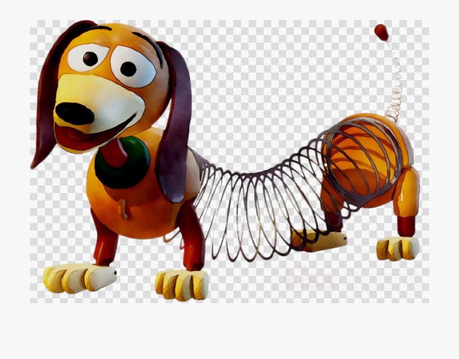 Toy Story Slinky Dog Clipart , Transparent Cartoon, Free.