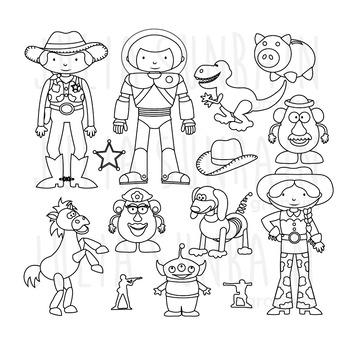 Toy Story Clipart Worksheets & Teaching Resources.