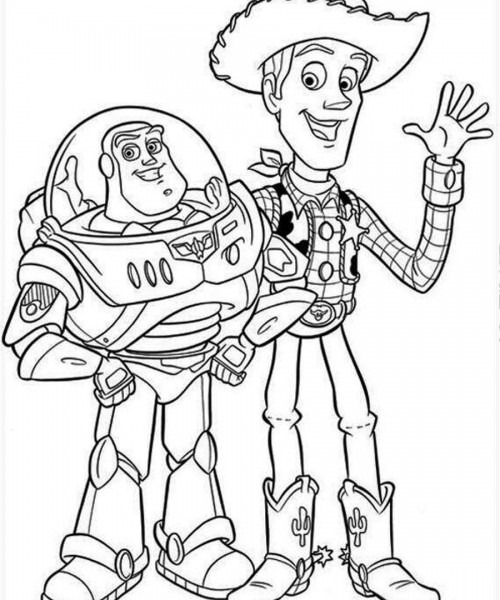Toy Story Black And White Pictures.