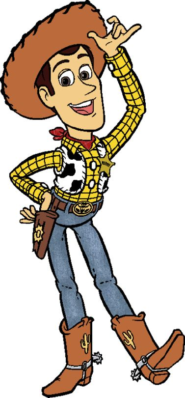 Woody From Toy Story Clipart.