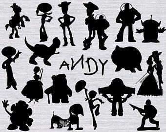 Toy Story SVG Bundle, Toy Story clipart, Toy story.