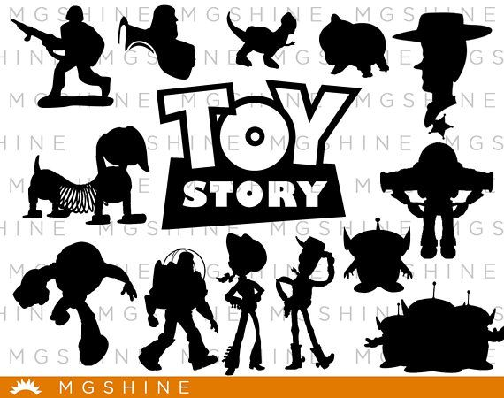 Toy Story SVG for Cricut, Silhouette.