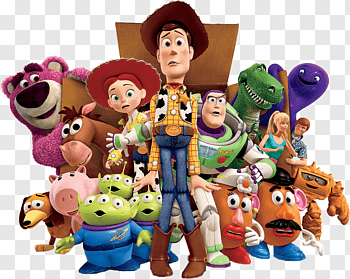 Toy Story 3 cutout PNG & clipart images.