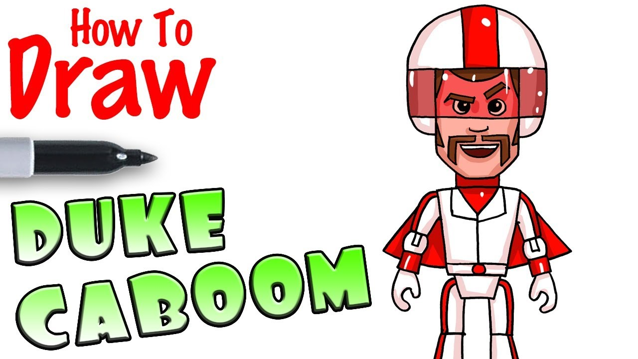 How to Draw Duke Caboom.