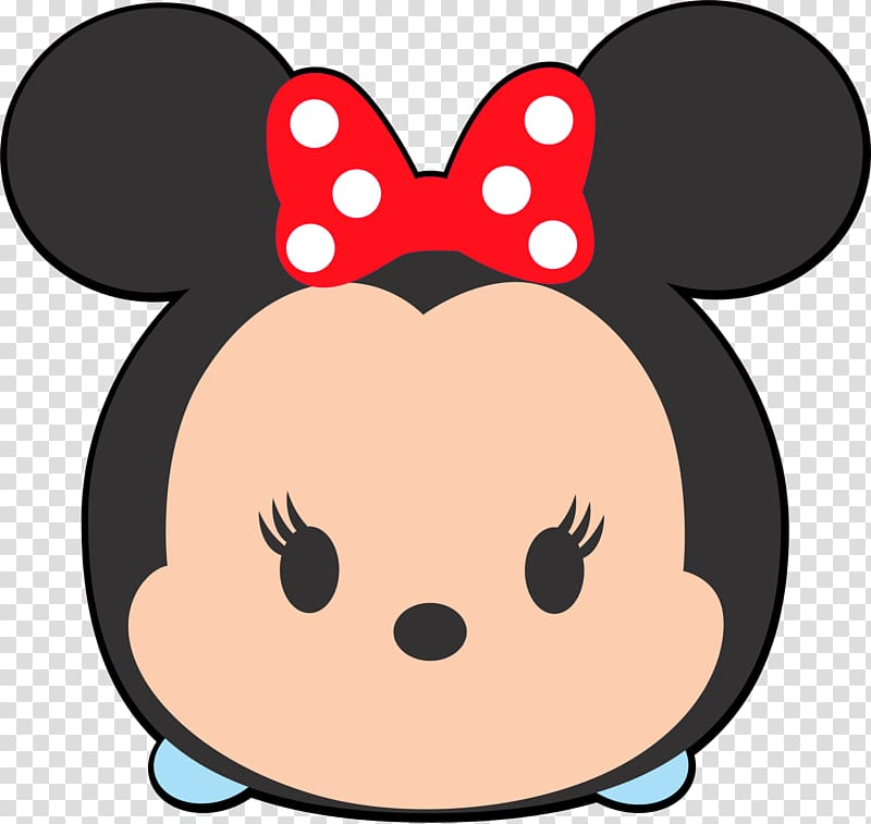 Disney tsum tsum Minnie Mouse illustration, Disney Tsum Tsum.