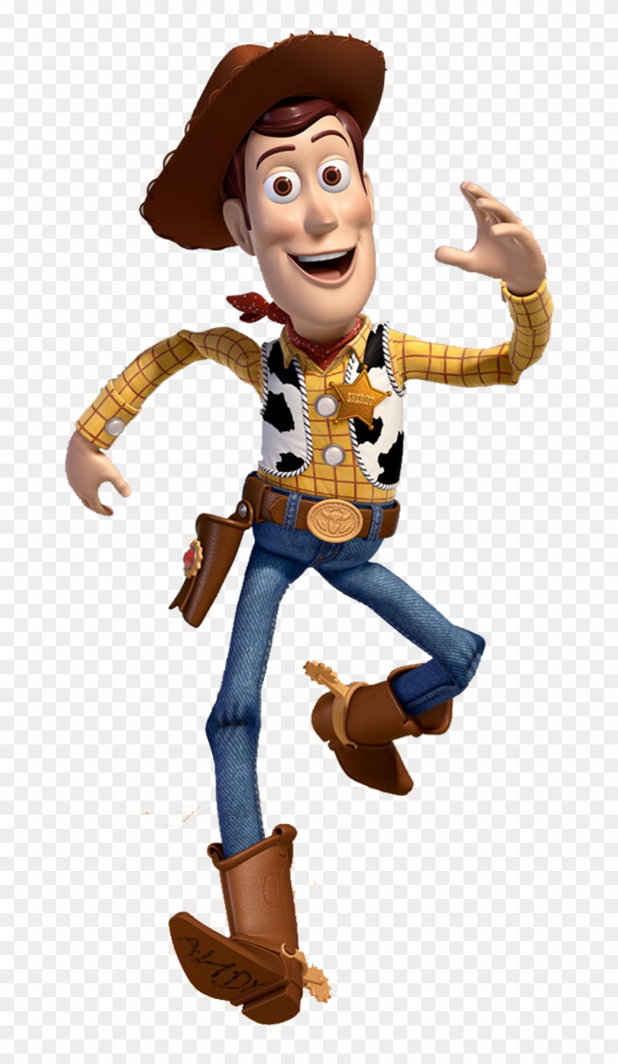 Woody Toy Story Characters Clipart.