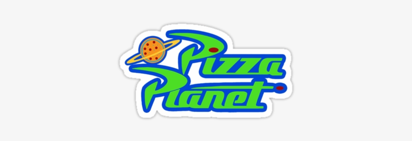 Pizza Planet Logo.