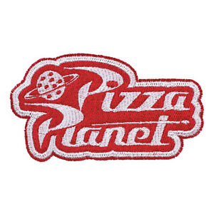 Details about Disney Pixar Toy Story Pizza Planet Logo Embroidered Iron.