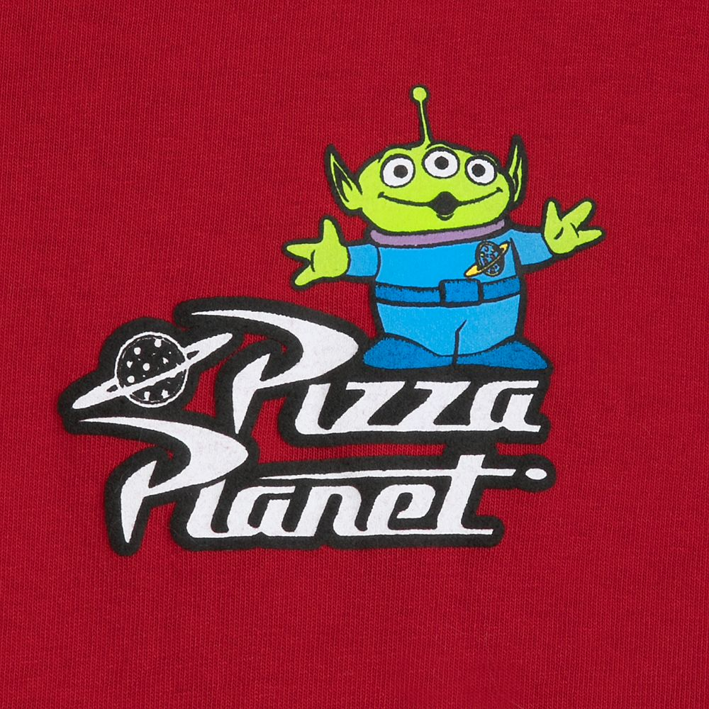 Pizza Planet Spirit Jersey for Adults.