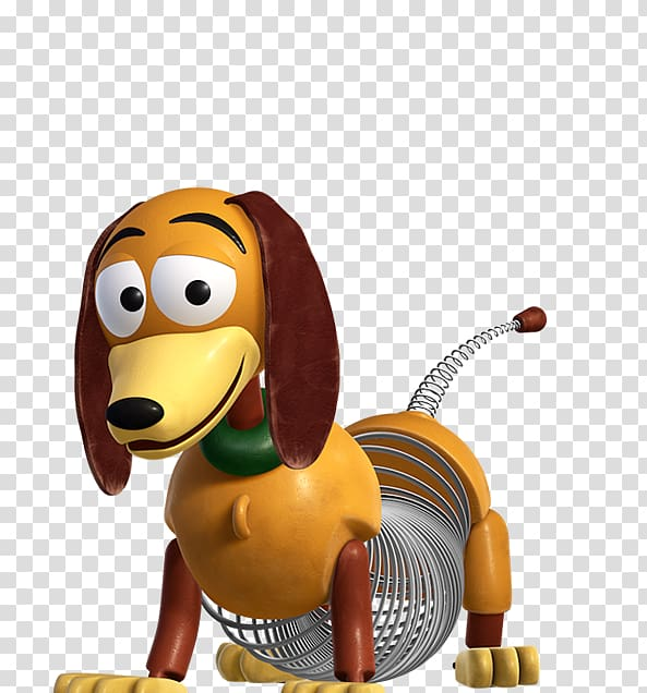 Toy Story Slinky illustration, Slinky Dog Andy Computer.