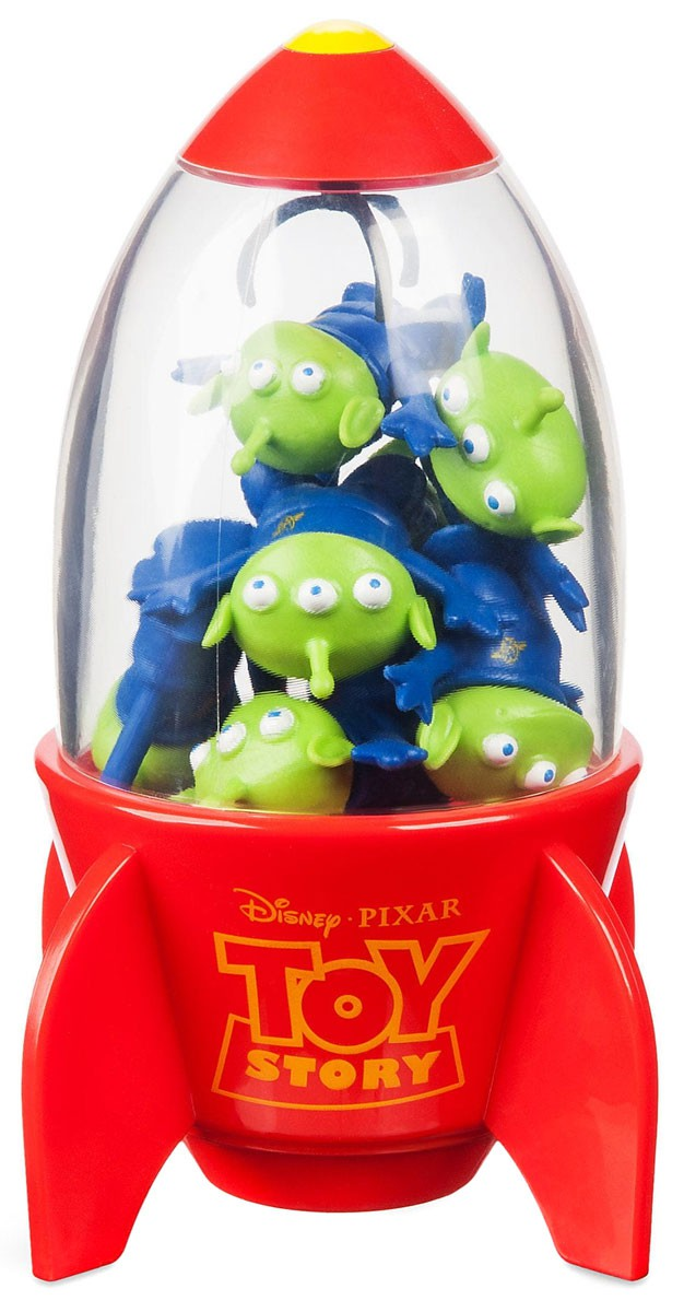 Details about Disney Toy Story Space Alien Claw Exclusive Eraser Set.