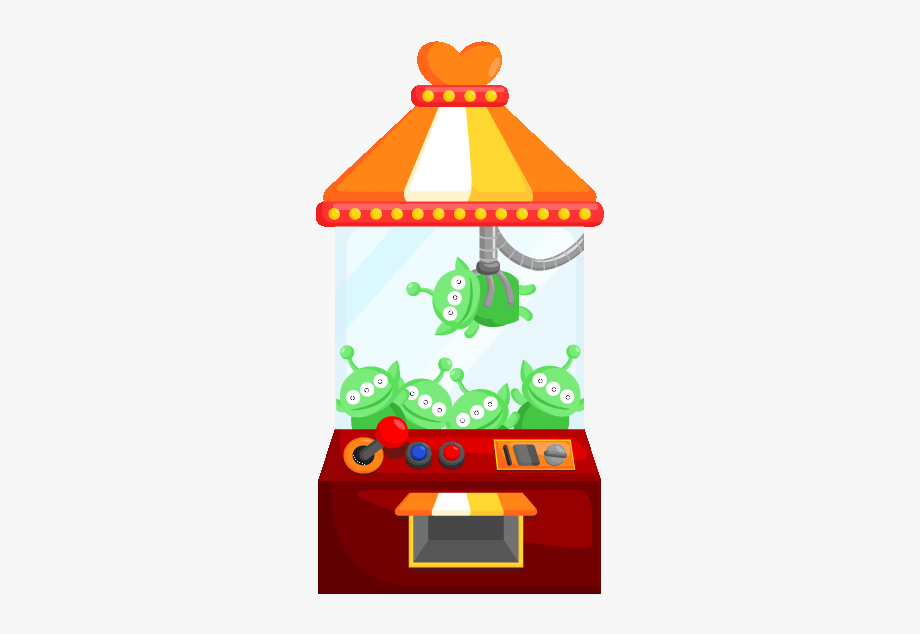 Claw Machine Toy Story Clipart , Transparent Cartoon, Free.