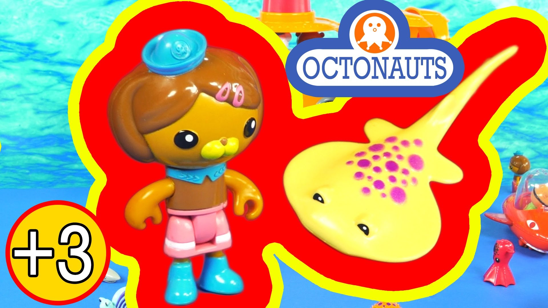 The Octonauts Dashi and the Electric Torpedo Ray Toy Figure.