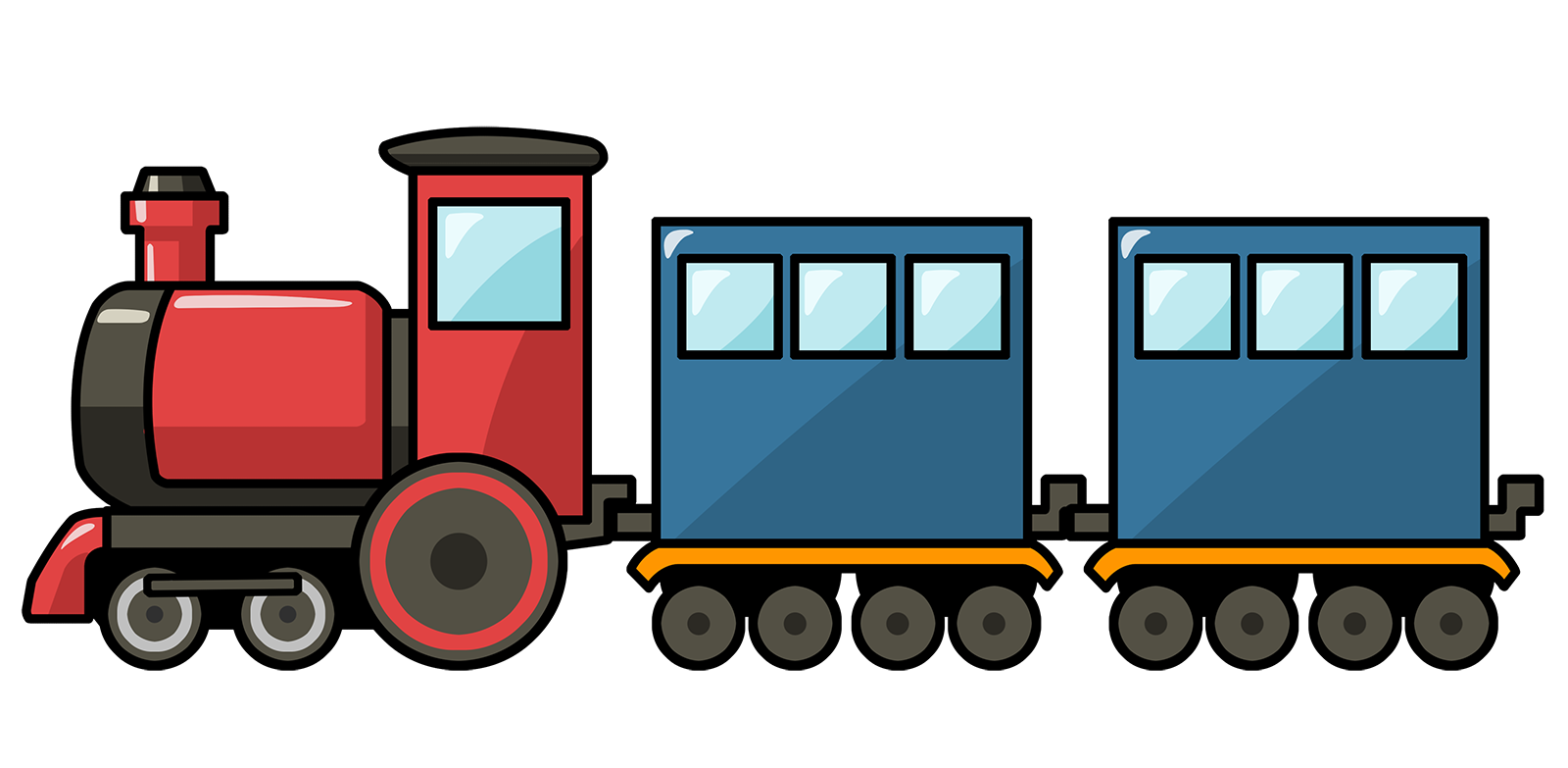 Cartoon Train.