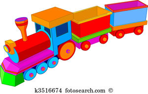 Toy train Clipart Illustrations. 4,404 toy train clip art vector.