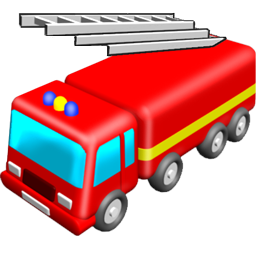 Toy truck clipart.