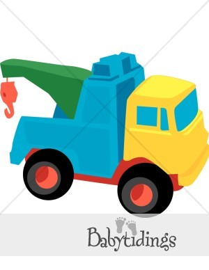 Boy Toy Trucks Clipart.