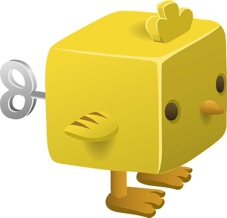 Free vector graphic: Toy, Animal, Yellow, Wind Up, Eyes.