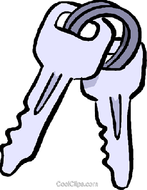 Toyota Car Keys Clipart.