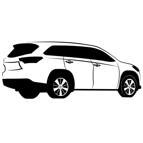 Toyota Highlander Vector X.