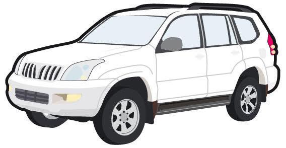 Toyota car free vector.