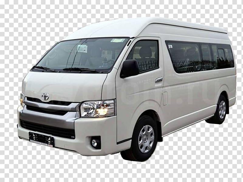 Toyota HiAce Minivan Car, toyota transparent background PNG.