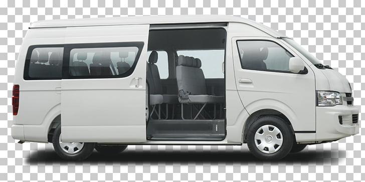 Toyota HiAce Nissan Caravan Jinbei, car PNG clipart.
