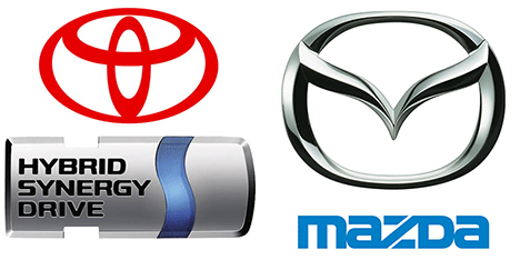 Mazda Signs Deal to License Toyota\'s Hybrid Powertrain.