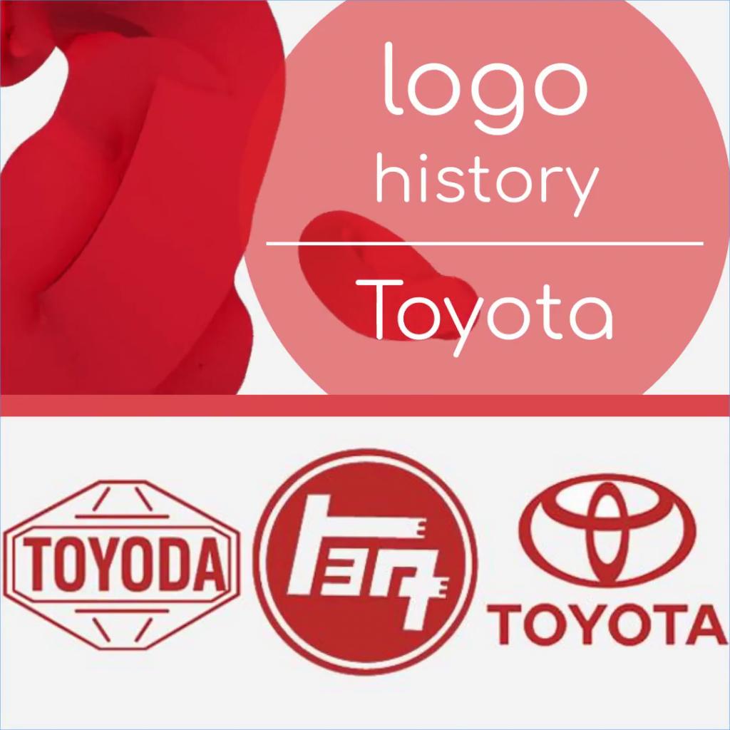 Creation of the Toyota logo.