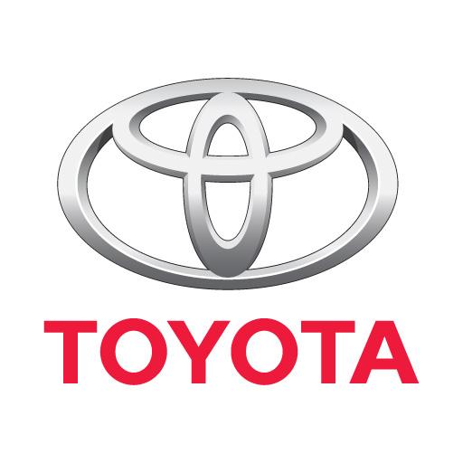 Toyota logo vector.