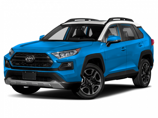 2019 Toyota RAV4 AWD Trail.